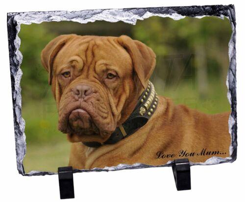 AD-DB2lymSL Dogue De Bordeaux /'Love You Mum/' Photo Slate Christmas Gift Ornamen