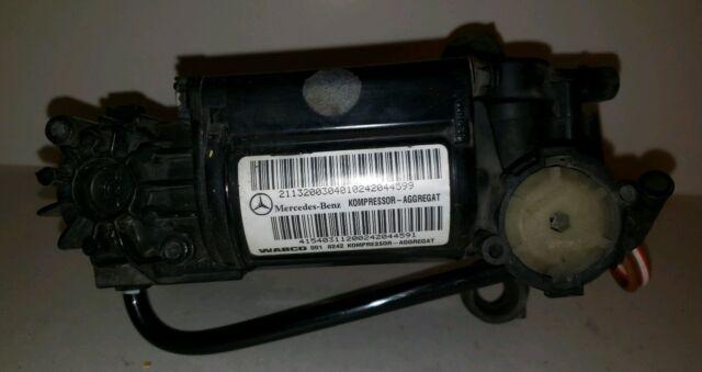 2000-2011 Mercedes W220 S430 S500 CLS550 E500 Air Suspension Compressor Pump OEM