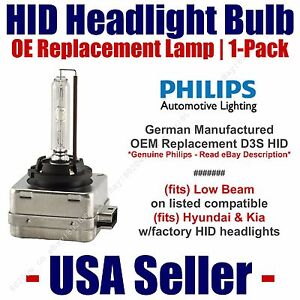 Headlight Bulb Low Beam OE Replacement For Select Toyota /& Lexus H7 55