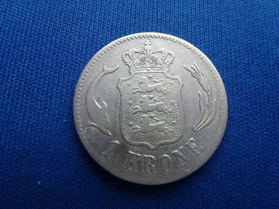 Danmark, mønter, 1 kr