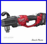 Milwaukee 2707-22 M18 Fuel Hole Hawg 1/2 Right Angle Drill Kit Free Ship