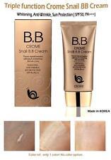 Crome Snail BB Cream Creme SPF 50+ Make-up Abdeckung Foundation Concealer 50ml