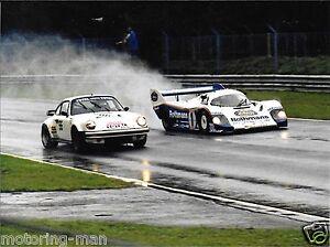ROTHMANS-PORSCHE-930-956-TOUROUL-ICKX-MASS-WET-PHOTOGRAPH-1983-1000KM-BRANDS