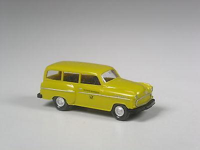 Wiking Werbemodell Opel Astra Caravan LGS Kaiserslautern 2000 in OVP selten