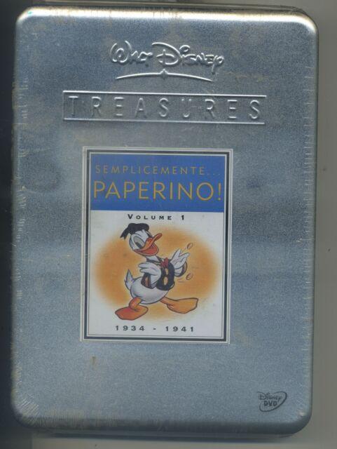 SEMPLICEMENTE PAPERINO VOL. 1 TREASURES TIN BOX LATTA DISNEY - DVD NUOVO