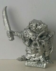 Classic-SKAVEN-Ratmen-Musician-with-dagger-age-of-sigmar-AOS-GW1987-Rare-OOP