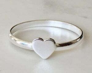 925-Sterling-Silver-Love-Heart-Ring-Solid-Stacking-Stack-Stackable-5-6-7-8-9