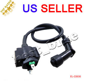 Ignition Coil Fits Honda 200 Atc200X Atc 200X 1986 1987 Atv Ignition Coil