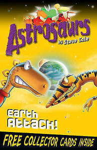 Astrosaurs-20-Earth-Attack-Cole-Steve-Very-Good-Book