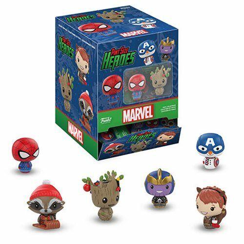 Marvel Holiday Pinte Taille Héros mini figurine Aléatoire