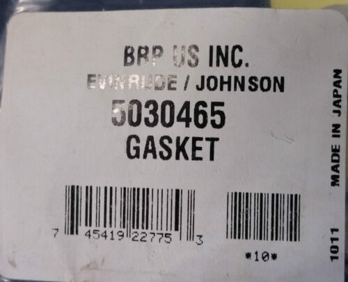 WASHER Johnson//Evinrude//OMC New OEM Oil Plug GSKT 5030465 Most 4S Engines