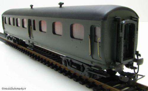 R.m.a. abteilwagen verde 4-achsig en ancho de vía h0 1 87