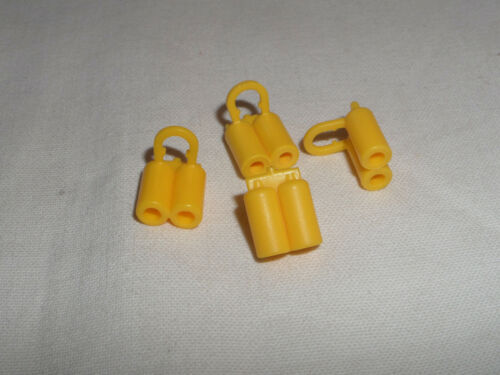 4x Lego 3838 Sauerstoffflasche Taucherflasche gelb 383824 6268848