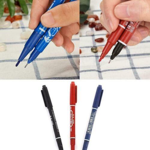 Schnelltrocknende Permanent Marker Stift DIY Ölfarbe Lernen Stift Schreibwa G8I0