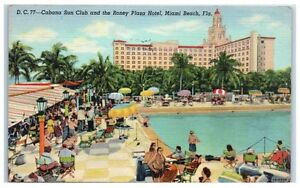 Image Is Loading 1946 Poolside At Cabana Sun Club Amp Roney