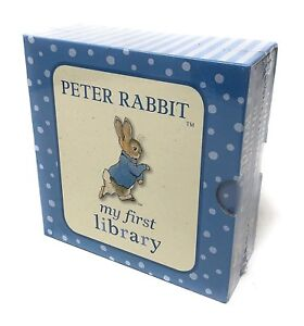 Beatrix-Potter-Peter-Rabbit-My-First-Library-4-Board-Book-Collection-Set