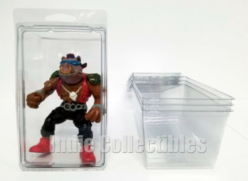 TMNT BLISTER CASE LOT OF 4 Action Figure Display Protective Clamshell X-LARGE