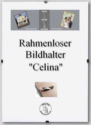 Rahmenloser Bildhalter Celina 29,7 x 42 cm mit Acrylglas 42x29,7cm Mengenrabatt