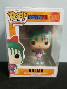 Funko Dragon Ball Z POP Animation Vinile Figura Bulma 9 cm