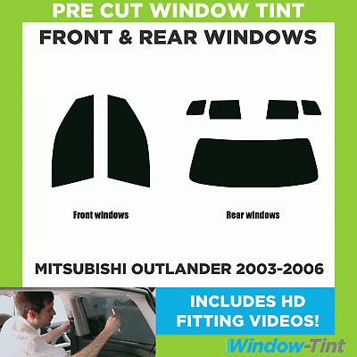 Pre Cut Window Tint Mitsubishi Outlander 2007-2011 Full Kit