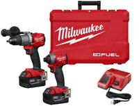 Milwaukee 2997-22 M18 FUEL Hammer Drill / Impact kit (NEW) $449 Mississauga / Peel Region Toronto (GTA) Preview