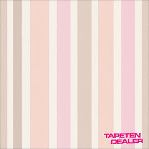 EUR-2-30-qm-Tapete-Esprit-Kid-s-30288-1-Streifen-Rosa-AS-Creation-302881