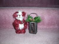 One of a kind teddy mohair minature teddy bear