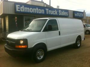 2012 CHEVROLET 2500 EXPRESS CARGO VAN (AIR CONDITIONING)