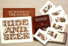 "*Bev Doolittle""HIDE AND SEEK""Camoflauge-Indian-Native American-Horses-Art-$1200*"