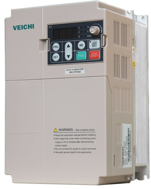Single phase input, three phase output Variable Speed Drive