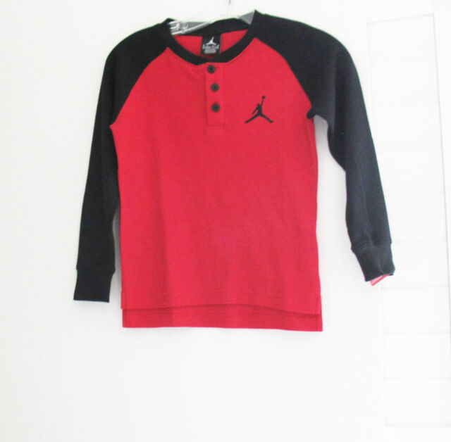 b7cf09b7f24 Nike Air Jordan Jumpman Waffle Long Sleeve Shirt Gym Red Sz 7 - for ...