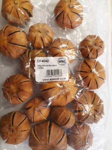 Manderine entera en polvo Naranja 250g Navidad Coronas guirnaldas Hogar Artesanía DF4042