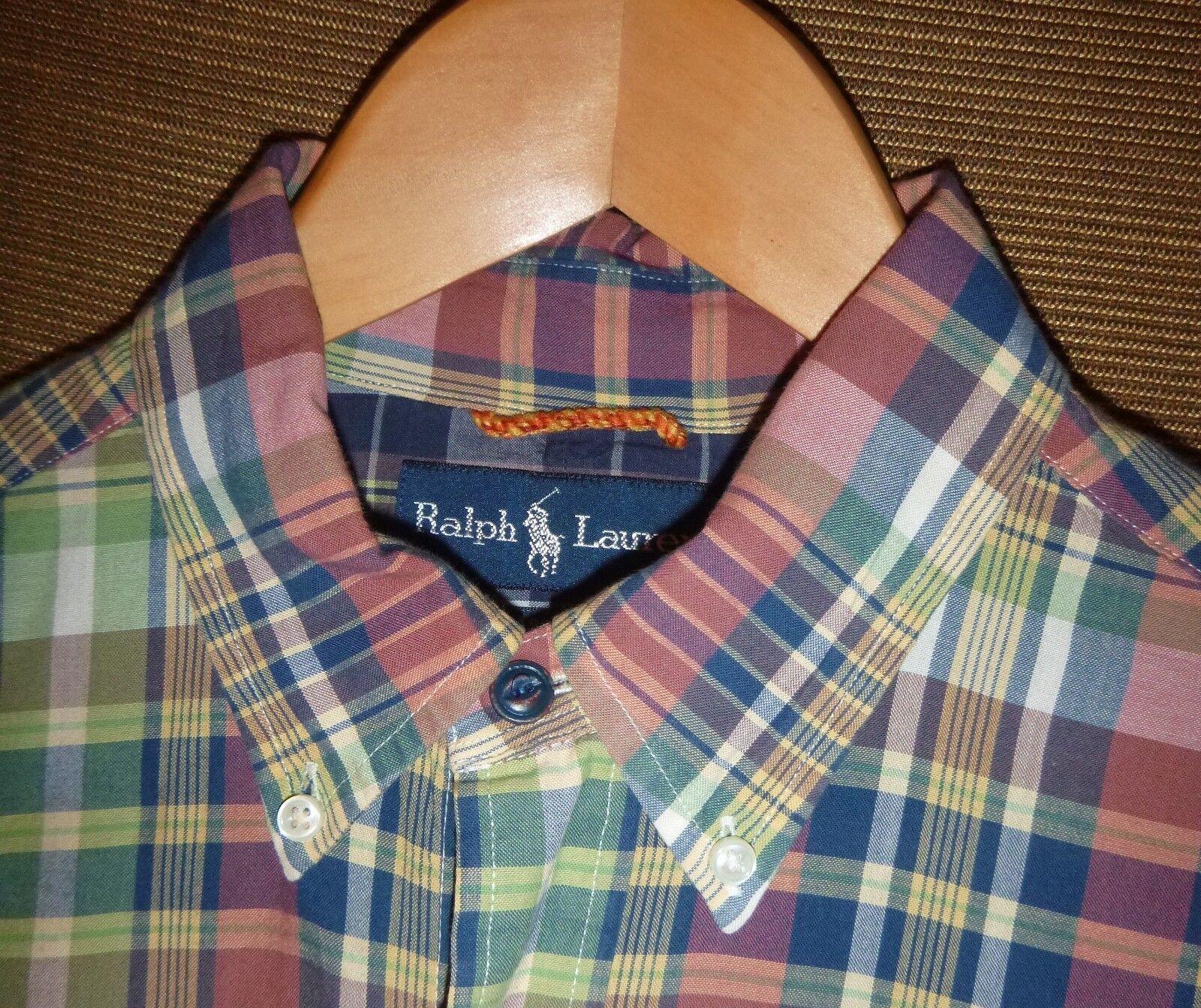 2011 Men's Polo Ralph Lauren Aberdare Edition Classic Fit Shirt size Medium