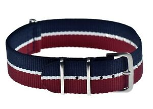 Genuine-18mm-RAF-Royal-Air-Force-N-A-T-O-Military-Watch-Strap-from-MWC-Zurich