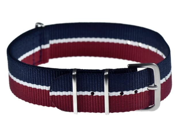 b988d74d383 Genuine 18mm RAF   Royal Air Force N.A.T.O Military Watch Strap from MWC  Zürich