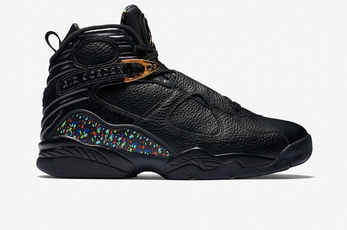 Nike Air Jordan 8 VIII Confetti Retro C&C SZ 14 Confetti VIII Cigar Championship 83221-004 c2cf33