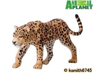 Mojo Animal Planet Leopardo Nebuloso plastica solida giocattolo Wild Zoo Cat Predator NUOVO