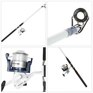 Okuma Tundra Surf Fishing Rod Combo Saltwater Spinning Reel Durable Fiber 10ft 739998332663 Ebay