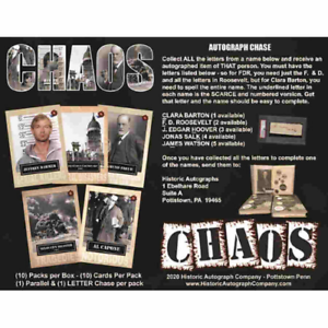 2020-HISTORIC-AUTOGRAPHS-CHAOS-FACTORY-SEALED-BOX-IN-STOCK-FREE-SHIPPING