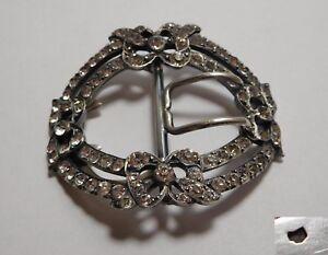 07dbf505fef8 Superbe boucle de ceinture ancienne XIX - argent massif   eBay