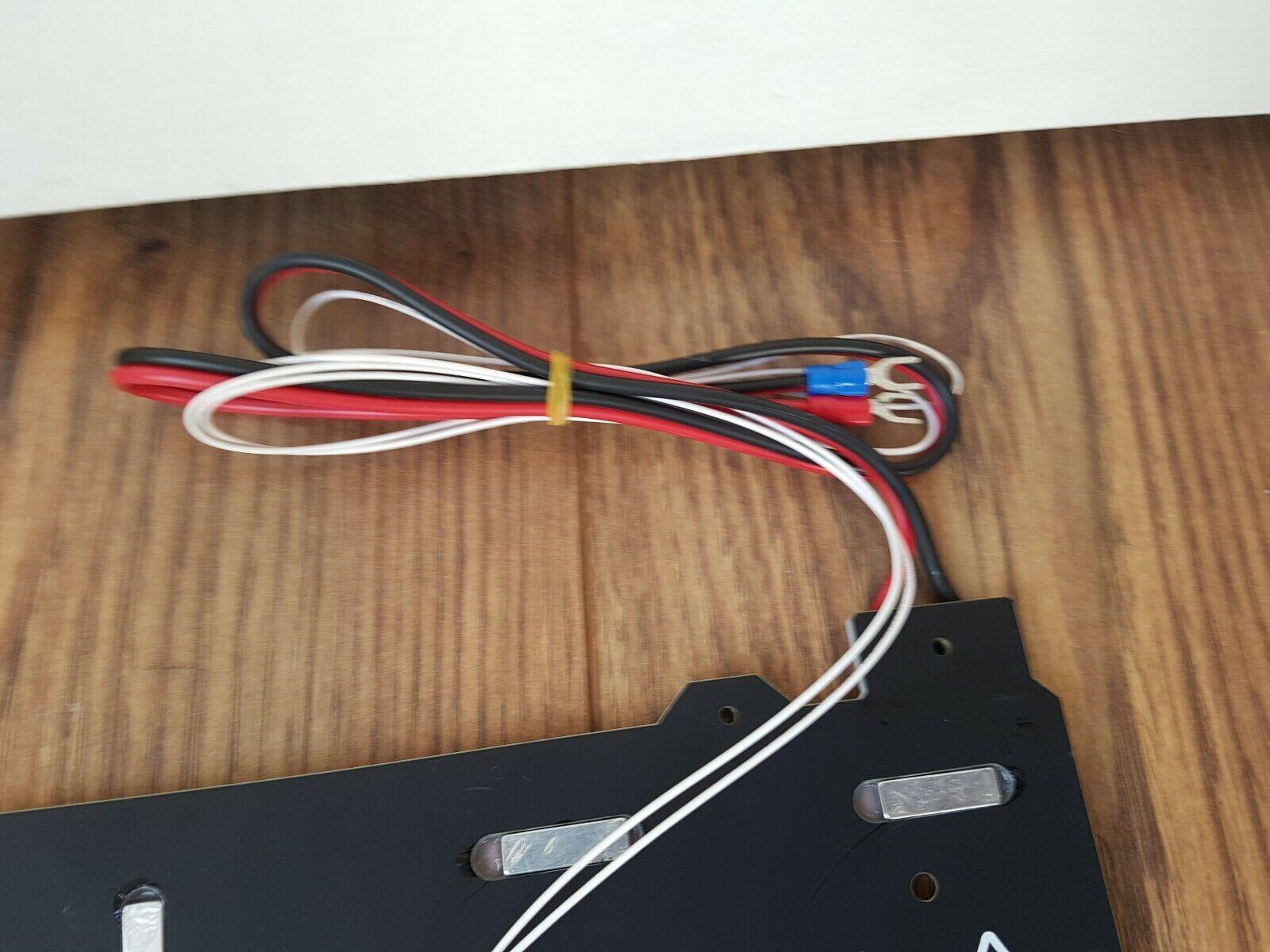 Magnetic Heated Bed 300/300mm 24V + PEI Steel Plate 3D Printer