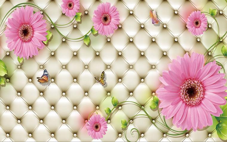 3D Lila Gänseblümchen 7532 7532 7532 Tapete Wandgemälde Tapete Tapeten Bild Familie DE | Lassen Sie unsere Produkte in die Welt gehen  | Attraktiv Und Langlebig  | Feine Verarbeitung  ce02ce