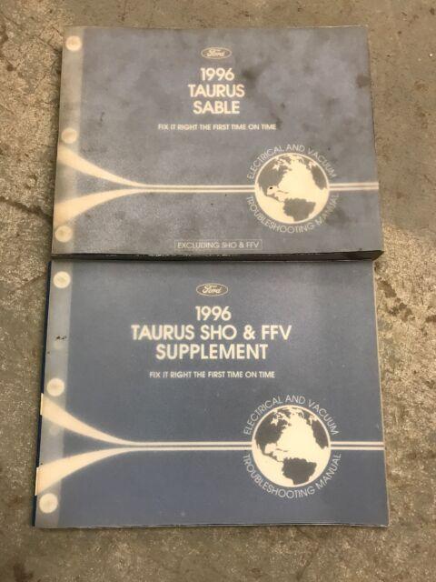 1996 Ford Taurus Sho Electrical Vacuum Wiring Diagrams