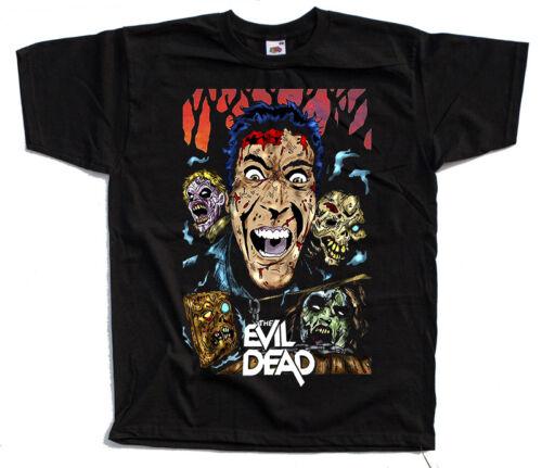 The Evil Dead V2 Movie BLACK T SHIRT ALL SIZES S-5XL