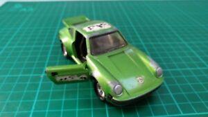 Vintage-Matchbox-K-70-Verde-Porsche-Turbo-Juguete-Diecast-Car-1979-Super-Reyes