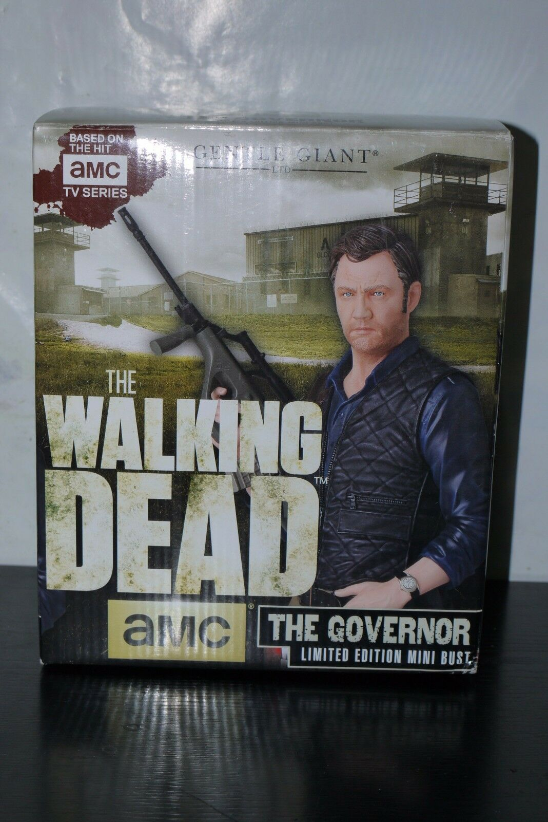 THE WALre DEAD GENTLE GIANT GOVERNOR MINI autobusT 04131264 scatolaED