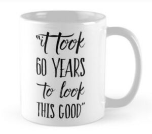 Image Is Loading 60 60th Birthday Small Gift Idea Funny Mug