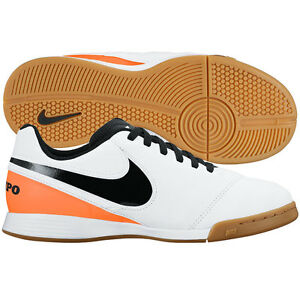 3dd971a179 Nike Tiempo Legend IV IC 2016 Indoor Soccer Shoes White - Orange ...