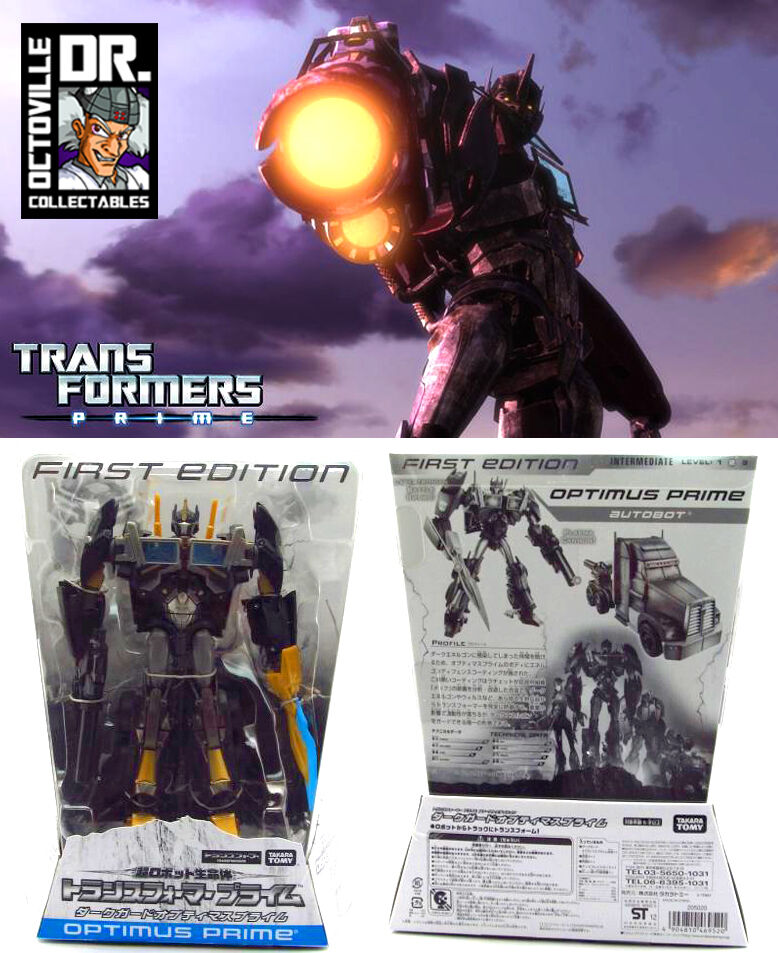 Transformers Prime RID 1st Edition Série Animée Takara Voyager Nemesis Prime
