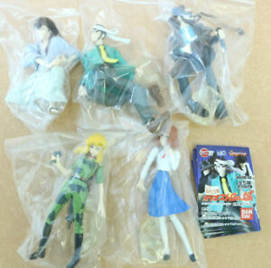 Lupin-the-Third-HG-IF-Cagliostro-Figure-5PCS-Authentic-3-3-8-034-Bandai-Japan-G621